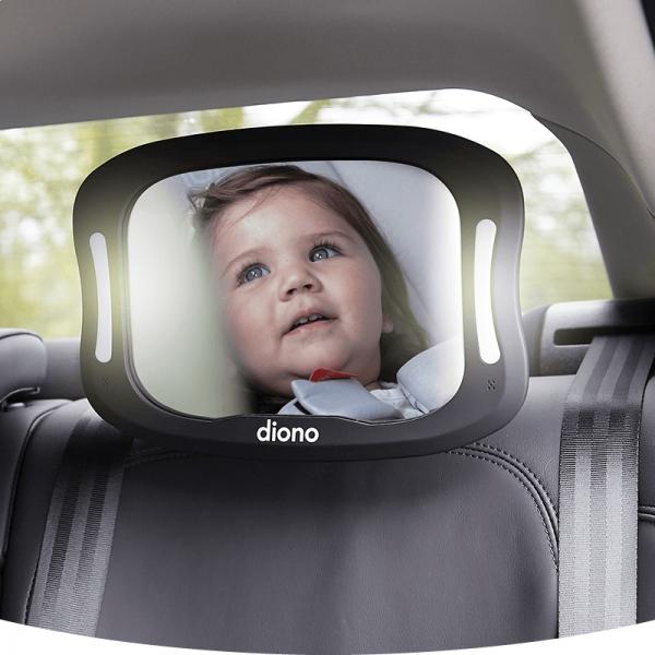 Oglinda Retrovizoare Diono cu Lumina Easy View XXL 1