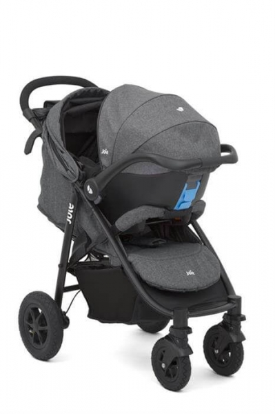Carucior Multifunctional Joie Litetrax 4 AIR Chromium 2